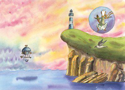 belette-océan-falaise-baleine-helene-valentin-auteure-illustratrice-peinture-aquare