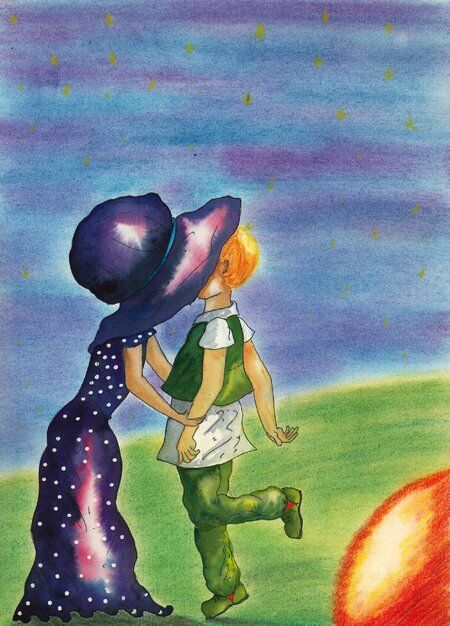 fille-garçon-livregéant-bisou-différence-helene-valentin-auteure-illustratrice-peinture-aquarelle