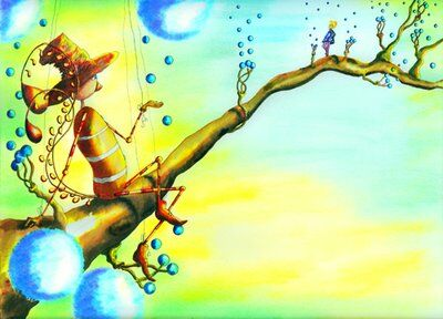 oiseau-marionette-helene-valentin-auteure-illustratrice-peinture-aquarelle