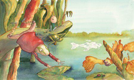 petitjonc-criquet-grenouille-grue-oiseau-helene-valentin-auteure-illustratrice-peinture-aquarelle