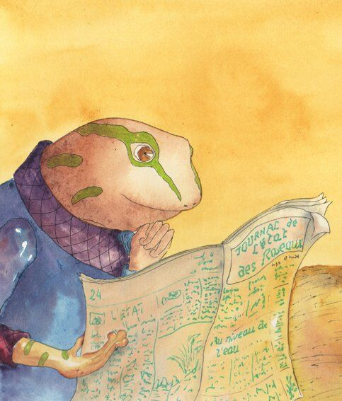 petitjonc-journal-grenouille-grue-oiseau-helene-valentin-auteure-illustratrice-peinture-aquarelle