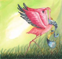 flamantrose-danse-helene-valentin-auteure-illustratrice-peinture-aquarelle