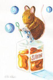 souris-savon-acrylique-helene-valentin-auteure-illustratrice-peinture-aquarelle